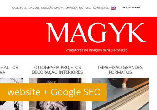 Novo website com SEO by Santa Ideia