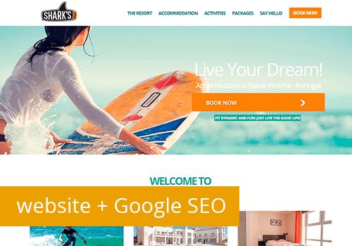 Novo Website cliente com Google SEO
