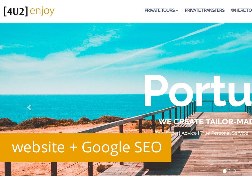Empresa de sites cria novo site