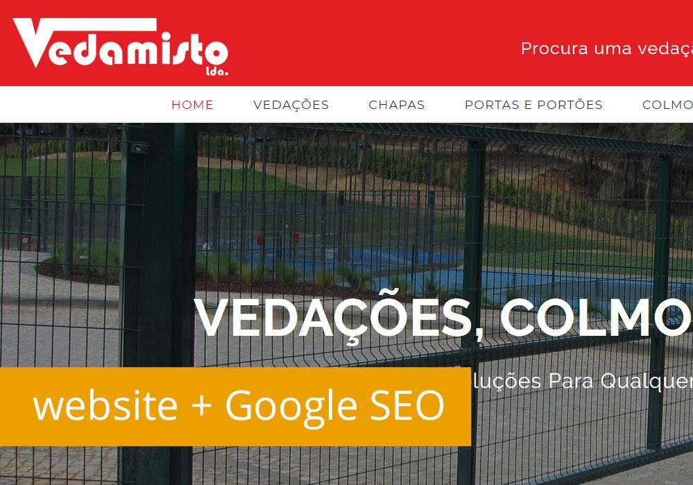 Novo website com SEO